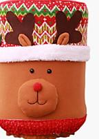 baratos -Ornamentos / Natal Férias Tecido Festa Decoração de Natal