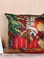 Недорогие -Наволочки Праздник Нетканый материал Прямоугольный Для вечеринок / Оригинальные Рождественские украшения