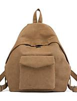 Недорогие -Жен. Мешки холст рюкзак Молнии Черный / Темно-серый / Тёмно-синий