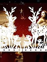 Недорогие -Оконная пленка и наклейки Украшение Рождество Праздник ПВХ Очаровательный / Новый дизайн