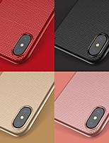 baratos -Capinha Para Apple iPhone X Anti-poeira Capa traseira Estampa Geométrica Rígida PC para iPhone X