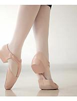 abordables -Femme Chaussures de Ballet Polyuréthane Talon / Basket Talon épais Chaussures de danse Noir / Rose