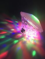 Недорогие -BRELONG® 1шт LED Night Light Аккумуляторы AAA Водонепроницаемый / Меняет цвета / Украшение 5 V
