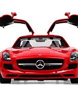 Недорогие -Машинка на радиоуправлении Rastar 47600-8 10.2 CM 27MHz Автомобиль 1:14 8.2 km/h КМ / Ч На пульте управления / Светящийся