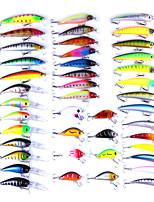Недорогие -43 pcs штук Жесткая наживка / Мормышки в наборах Жесткая наживка / Мормышки в наборах пластик / Металл Ловля на приманку / Ужение на спиннинг / Обычная рыбалка