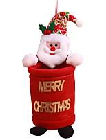 Недорогие -Орнаменты Новогодняя тематика / Мультяшная тематика Ткань / пластик куб Мультфильм игрушки Рождественские украшения