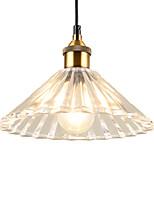 abordables -europe du nord moderne verre pendentif lumière vintage salon salle à manger couloir café lampe suspension