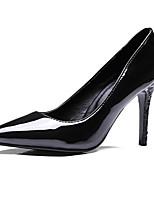 abordables -Femme Chaussures de confort Polyuréthane Printemps Chaussures à Talons Talon Aiguille Noir / Vin