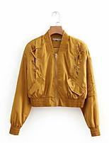 cheap -women's jacket - contemporary v neck