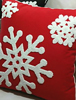 Недорогие -Наволочки Новогодняя тематика / Праздник Полиэстер Прямоугольный Для вечеринок / Оригинальные Рождественские украшения