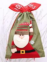 Недорогие -Хранение новогодних аксессуаров Новогодняя тематика Полиэстер Оригинальные Рождественские украшения