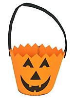 Недорогие -Праздничные украшения Украшения для Хэллоуина Хэллоуин Развлекательный Держать в руке Оранжевый 1шт