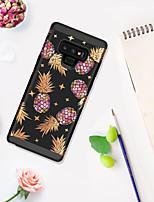 billiga -fodral Till Samsung Galaxy Note 9 Stötsäker / Mönster Skal Frukt / Marmor Hårt PC för Note 9