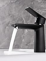 Недорогие -Ванная раковина кран - Новый дизайн Живопись Настольная установка Одной ручкой одно отверстие
