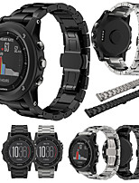 Недорогие -Ремешок для часов для Fenix 3 Garmin Классическая застежка Стали / Металл Повязка на запястье