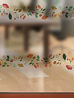 Недорогие -Оконная пленка и наклейки Украшение Обычные Цветочный принт ПВХ Новый дизайн / Cool