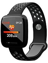 Недорогие -Умный браслет YY-F15 для Android iOS Bluetooth Спорт Водонепроницаемый Пульсомер Измерение кровяного давления Сенсорный экран