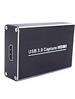 billiga -usb 3.0 fånga hdmi till usb3.0 videoinspelning dongle hd 1080p fånga stöd uvc och uac standard enhet för ps3 för xbox