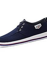 Недорогие -Муж. Комфортная обувь Полотно Осень Кеды Черный / Темно-синий / Серый