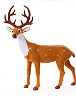 Недорогие -Орнаменты Праздник Ткань / Хлопковая ткань / Хлопок Для вечеринок Рождественские украшения