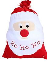 baratos -Bolsa / Natal Natal Tecido Quadrada Novidades Decoração de Natal