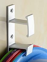 abordables -Crochet à Peignoir Design nouveau / Multifonction Moderne Aluminium 1pc Montage mural