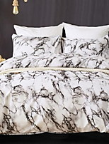 cheap -Duvet Cover / Duvet Cover Sets Stripes / Ripples / Contemporary Polyster Printed 4 Piece
