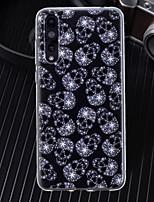 preiswerte -Hülle Für Huawei P20 / P20 Pro Ultra dünn / Transparent / Muster Rückseite Totenkopf Motiv Weich TPU für Huawei P20 / Huawei P20 Pro / Huawei P20 lite