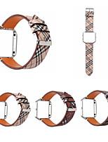 Недорогие -Ремешок для часов для Fitbit Blaze Fitbit Кожаный ремешок Натуральная кожа Повязка на запястье