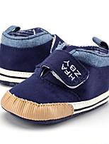 Недорогие -Мальчики Обувь Полотно Весна & осень Ботильоны Ботинки На липучках для Дети Хаки / Тёмно-синий