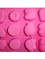 Недорогие -Инструменты для выпечки силикагель Heatproof / Творческая кухня Гаджет Многофункциональный / Для торта Квадратный Формы для пирожных 1шт