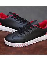 Недорогие -Муж. Комфортная обувь Полиуретан Весна Кеды Белый / Черный / Черный / Красный