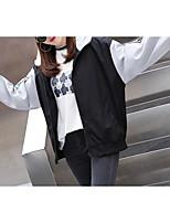 Недорогие -Жен. Куртка Классический - Контрастных цветов