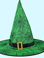 Недорогие -Праздничные украшения Украшения для Хэллоуина Хэллоуин Развлекательный Cool Золотой / Зеленый 1шт