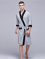 abordables -V Profond Costumes Pyjamas Homme Géométrique
