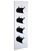 economico -Accessorio rubinetto - Qualità superiore - Moderno Ottone Bagno / Valvola acqua calda e fredda - finire - Cromo