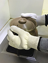 cheap -1 Pair Heat Resistant Fiber Protective Gloves Safety & Protective Gear Wear-Resistant