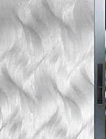 cheap -Window Film & Stickers Decoration Floral / Geometric Geometric Glasses / PVC(PolyVinyl Chloride) Window Sticker / Matte