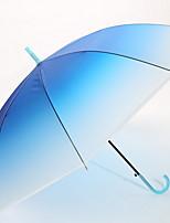 Недорогие -Ткань / Нержавеющая сталь Все Солнечный и дождливой Зонт-трость