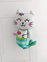 Недорогие -Воздушный шар Алюминиевая фольга 1 шт. Вечеринка для будущей матери / Сказка