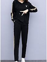 cheap -Women's Street chic Set - Color Block Pant