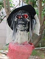 Недорогие -Праздничные украшения Украшения для Хэллоуина Хэллоуин Развлекательный Декоративная / Cool Серый 1шт