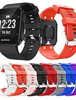 Недорогие -Ремешок для часов для Forerunner 35 Garmin Спортивный ремешок силиконовый Повязка на запястье