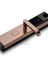 abordables -Factory OEM Acier inoxydable Intelligent Lock Smart Home Security Système RFID / Mot de passe anti peeping Maison / Maison / Bureau / Appartement (Mode de déverrouillage Empreinte digitale / Mot de