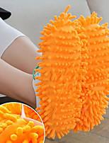 Недорогие -Женские тапочки / Мужские тапочки Домашние тапки Обычные Микроволокно