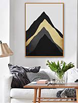 cheap -Framed Canvas / Framed Set - Abstract / Landscape Plastic Illustration