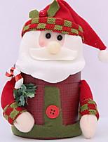 baratos -Caixas de Presente / Enfeites de Natal Natal Tecido Novidades Decoração de Natal