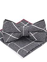 baratos -Unisexo Básico Gravata Borboleta - Laço Listrado / Estampa Colorida