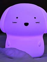Недорогие -1шт LED Night Light Фиолетовый USB обожаемый <=36 V