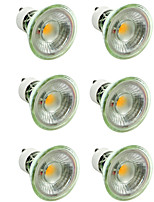 cheap -6pcs 7 W 500 lm GU10 / MR16 LED Spotlight 1 LED Beads COB Dimmable / Decorative Warm White / Cold White 220-240 V